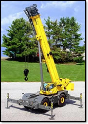 Mobile Cranes: All American Crane Maintenance: Mobile Cranes